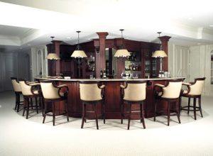 custom home bar design