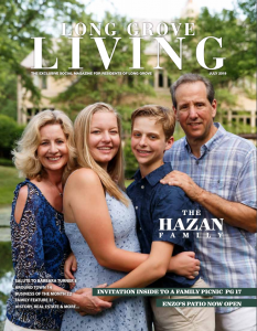 featured in Long Grove Living Magazine