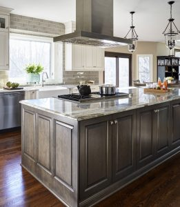 custom kitchen island design