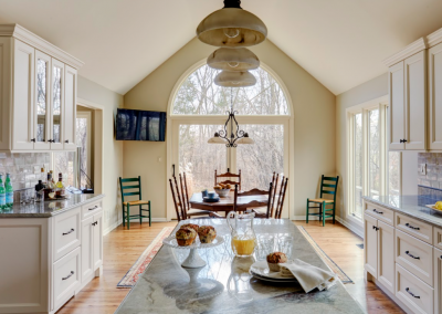 high arched kitchen ceiling