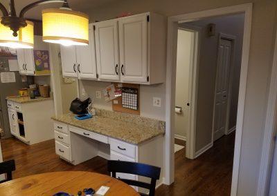 old kitchen desk